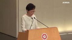 Hong Kong avverte gli Usa, 'nessuna ingerenza'