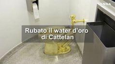 Rubato il water d'oro di Cattelan