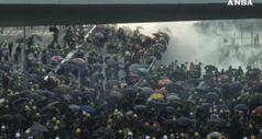 Hong Kong, i manifestanti invocano l'aiuto di Londra