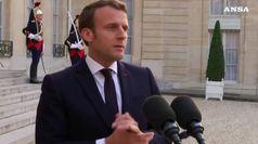 Migranti, stretta di Macron: ascoltare il popolo
