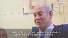 Israele al voto, gli sfidanti Netanyahu e Gantz alle urne