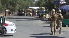Eplosione nel centro di Kabul, vicino ambasciata Usa