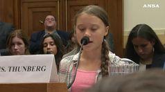 L'appello di Greta al Congresso
