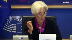 Bce: Parlamento Ue da' ok a Lagarde, M5S si astiene