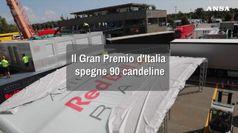 Il Gran Premio d'Italia spegne 90 candeline