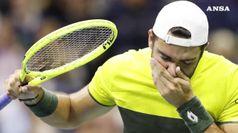 Tennis, finisce il sogno di Berrettini agli Us Open