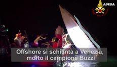 Offshore si schianta a Venezia, morto il campione Buzzi