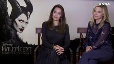 Angelina Jolie e Michelle Pfeiffer a Roma per Maleficent 2