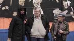 Bologna, il nuovo murales di Tv Boy e' un omaggio a Francesco Guccini