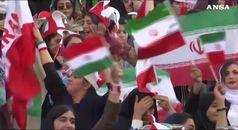 Dopo 40 anni, le iraniane tornano allo stadio