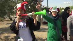 Cade il muro, a Teheran prima partita aperta alle donne