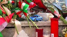 Pellegrinaggio alla questura di Trieste per omaggiare i poliziotti uccisi