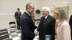 Mattarella incontra il Presidente della Repubblica di Bulgaria, Rumen Radev