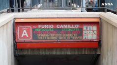 Roma, problemi alle scale mobili: chiusa metro Furio Camillo