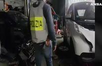 Riciclavano auto rubate, sgominata banda a Roma