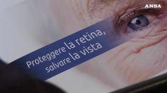 Salute: prevenzione e nuove terapie per maculopatia senile
