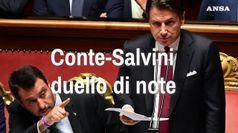Conte-Salvini, duello di note