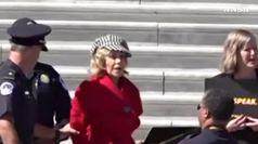 Jane Fonda in manette per le proteste sul clima