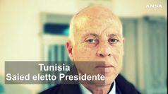 Tunisia, Kais Saied e' il nuovo Presidente della Repubblica