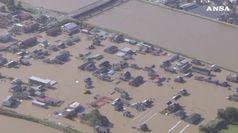 Il tifone Hagibis devasta il Giappone, oltre 50 morti