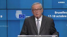 Ultimo vertice Ue, Juncker piange per la commozione