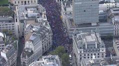 A Londra in piazza un milione di anti-Brexit