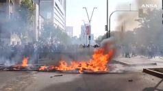 Protesta infiamma Santiago, e' stato di emergenza in Cile