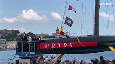 Vela: A Cagliari varata la nuova Luna Rossa