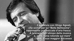 Addio Fred Bongusto
