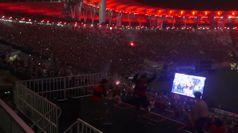 Flamengo vince la Copa Libertadores, esplode la gioia dei tifosi