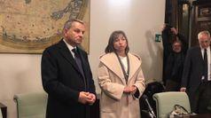 Umbria, si e' insediata la nuova presidente della Regione Donatella Tesei