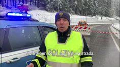 Maltempo: caos e disagi per neve sulle Dolomiti