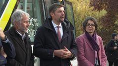 Bus 100% elettrico e 100% autonomo, prima nazionale a Merano