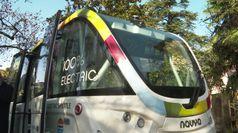 A Merano il bus senza autista, primo test in Italia