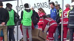 Open Arms attracca a Taranto, sbarcati 62 migranti