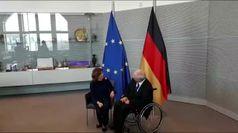 Casellati a Berlino incontra Schauble, commemora caduta muro