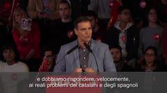 Elezioni Spagna, Sanchez: