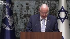 Presidente israeliano a Segre: inorridito dalle minacce
