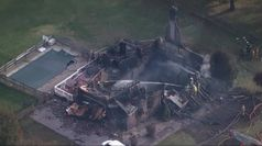 Usa, esplosione in casa: l'intervento dei vigili del fuoco