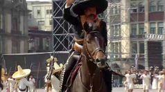 Il Messico celebra l'anniversario della rivoluzione del 1910