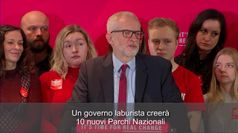 Labour Party, Corbyn lancia il 'Green Manifesto':