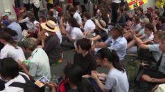 Sidney, attivisti per il clima in piazza dopo gli incendi