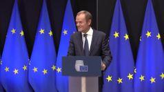 Consiglio Ue, la campanella passa da Tusk a Michel