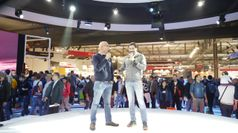 Talk Moto Guzzi, 11mila km di liberta' da Milano all'Armenia