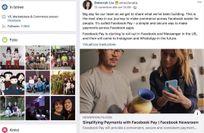Dopo Google anche Facebook spinge su servizi finanziari