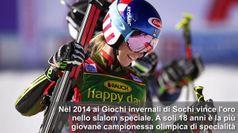 Shiffrin, sciatrice da record