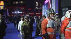 Star Wars, alla prima a Londra sfilano i personaggi della saga