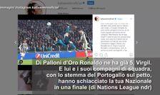 Pallone d'Oro, van Dijk punge Ronaldo: l'ira delle sorelle di CR7