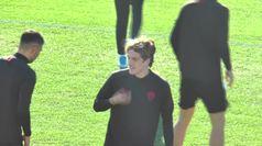 Europa League, la Roma si allena alla vigilia del match col Wolfsberg