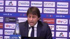Fiorentina-Inter, Conte: ''Raccogliamo meno di quanto seminato''